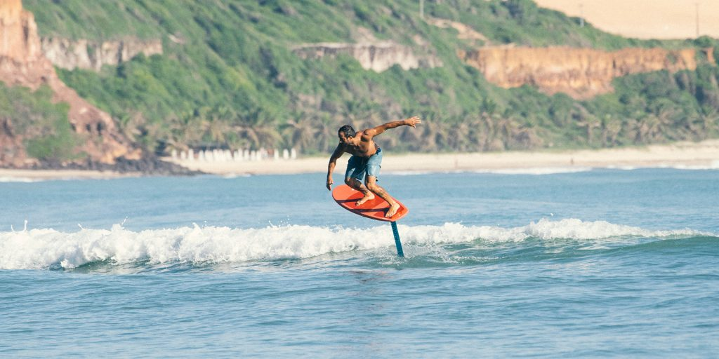 what is surf foiling