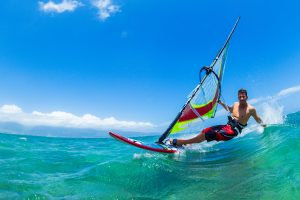 what is windsurfing